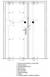 5+2 bodový trezorový zámek ATRA